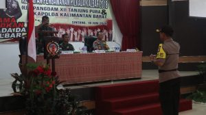 Kapolda Kalbar dan Pangdam XII Tanjungpura Blusukan Ke Sintang