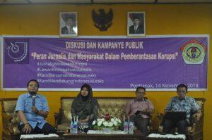 Peran Jurnalis Dan Masyarakat Dalam Pemberantasan Korupsi