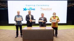 XL HOME Bermitra dengan FiberStar Perluas Jangkauan dan Tingkatkan Homes-passed