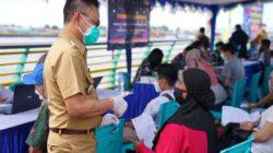 Vaksin Massal Targetkan 150 Ribu Warga